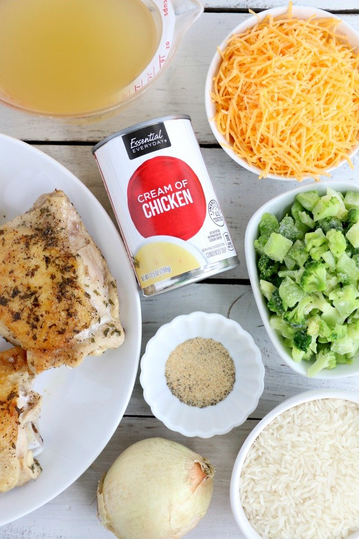 chicken and rice crockpot