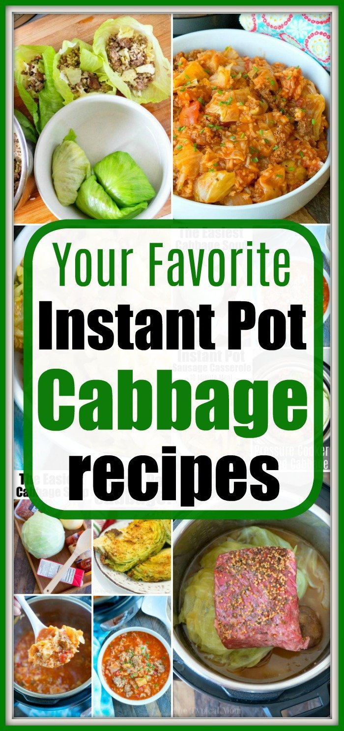 instant pot cabbage recipes