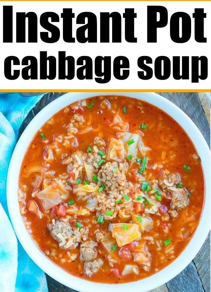 instant pot stuffed cabbage soup