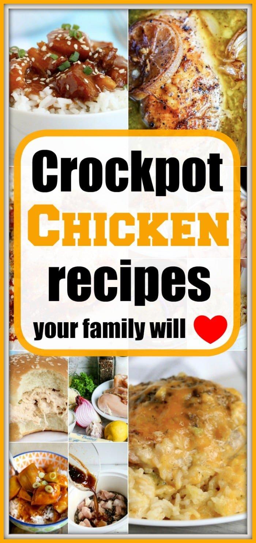 Best Crockpot Chicken Recipes