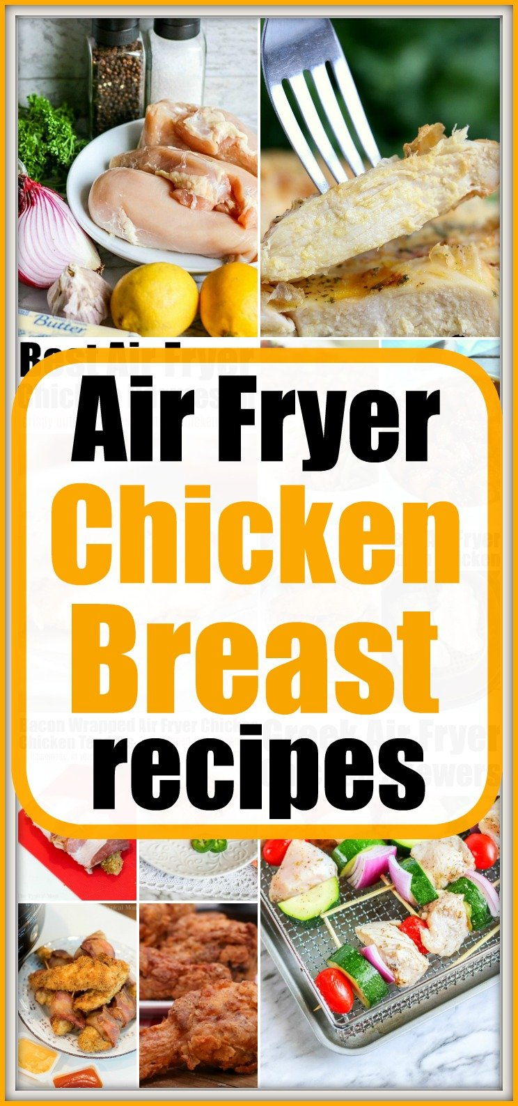 air fryer chicken breast recipes