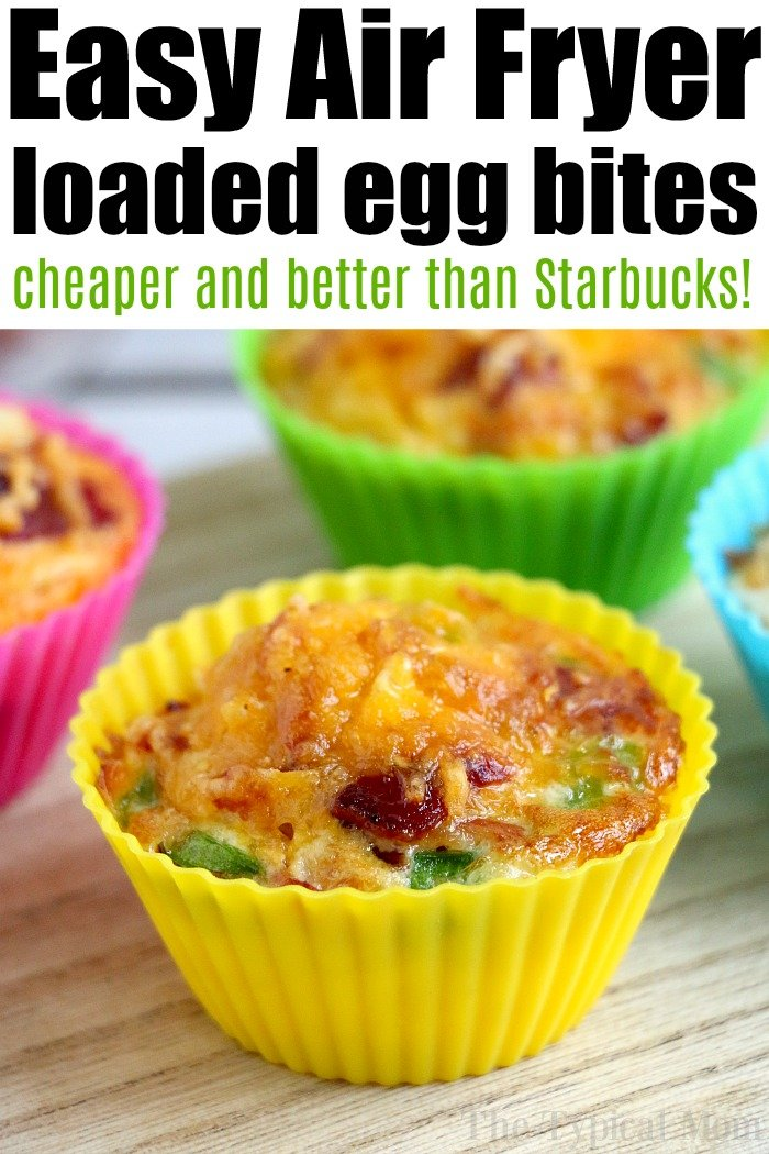 Air Fryer Egg Bites