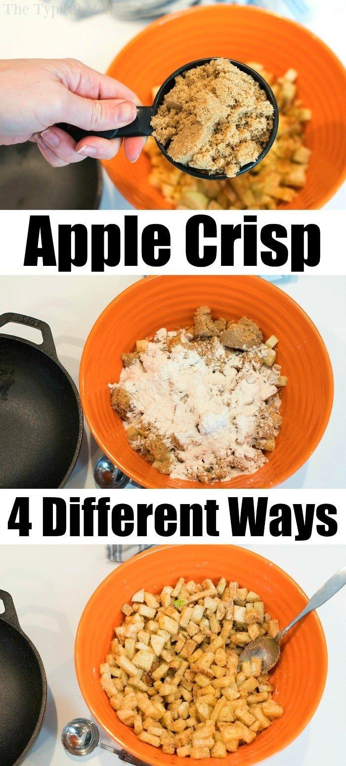 Best Cast Iron Apple Crisp The Typical Mom