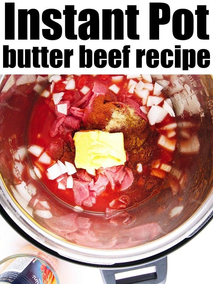 butter beef