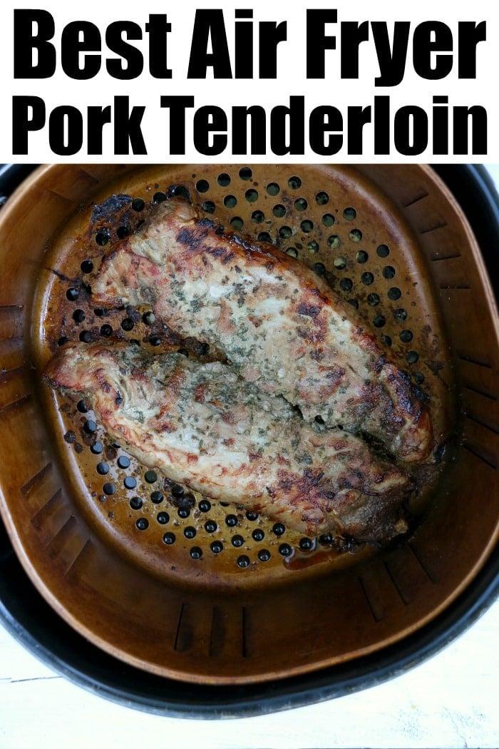 Air Fryer Pork Loin
