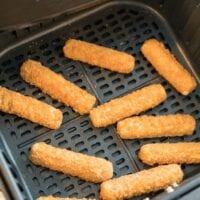 Frozen Mozzarella Sticks in Air Fryer