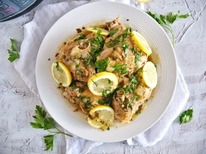 Instant pot lemon pepper chicken