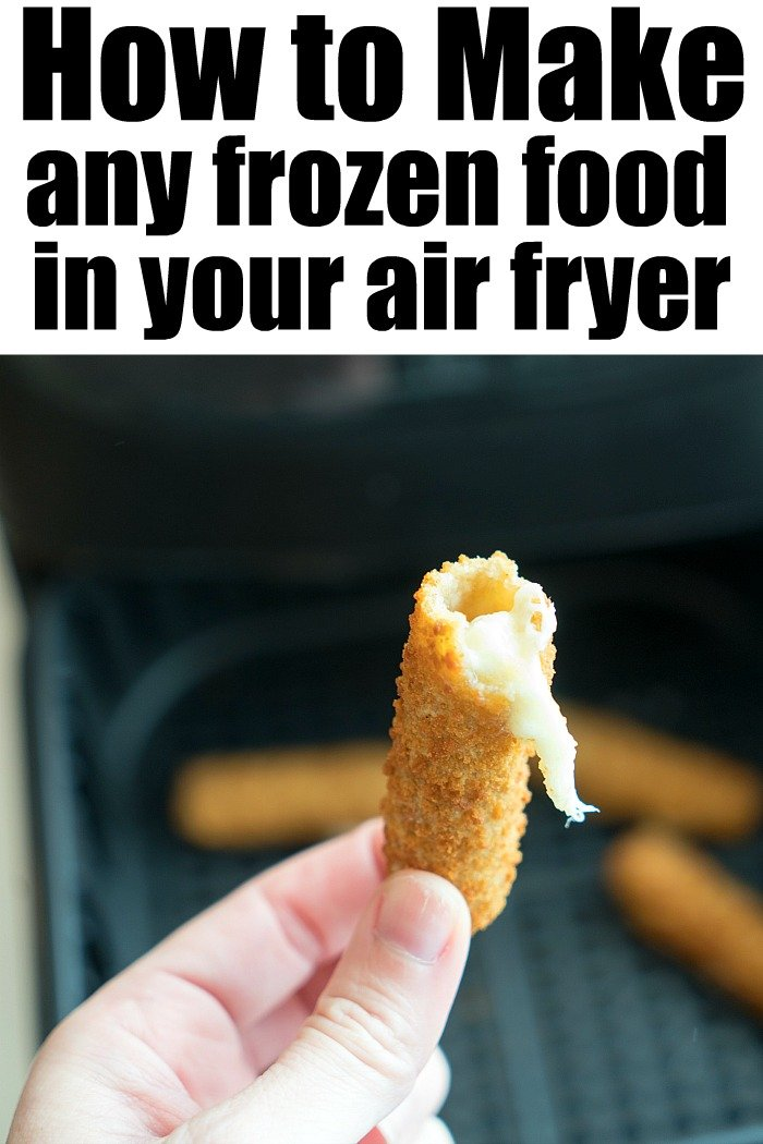air fryer frozen food