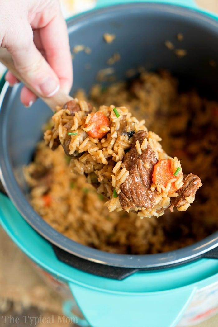 instant pot beef casserole