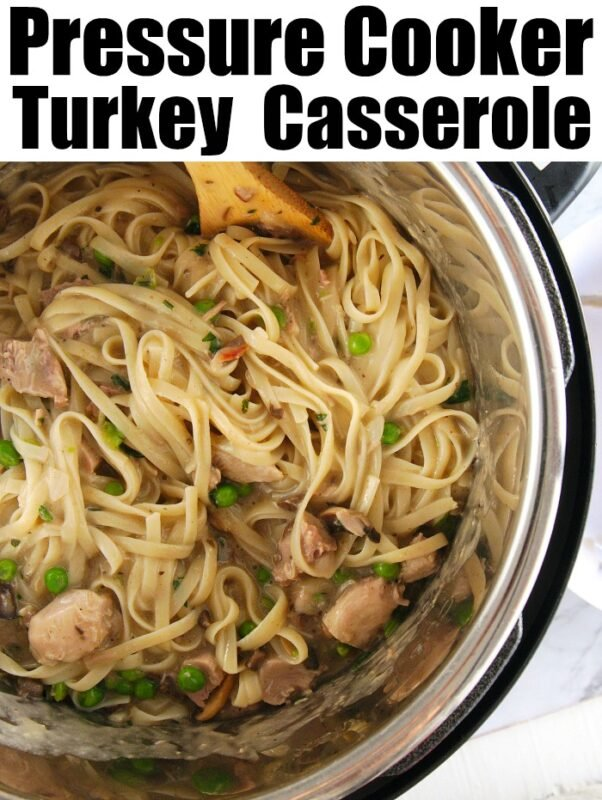 instant pot turkey casserole