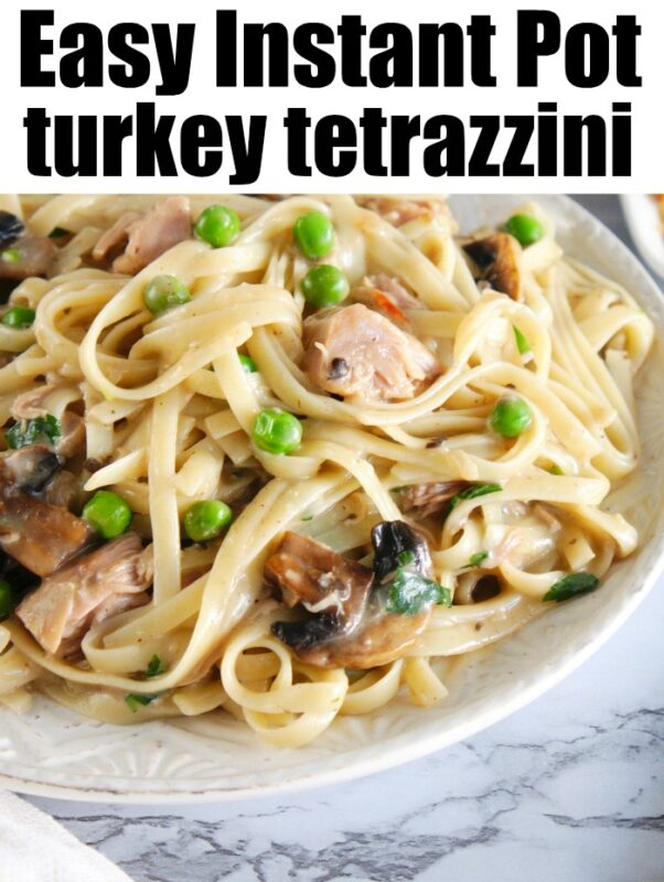 instant pot turkey tetrazzini