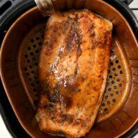 salmon in air fryer