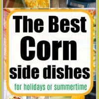 Corn Side Dish Recipes
