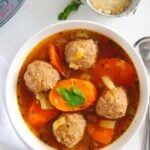 Instant Pot Meatball Soup