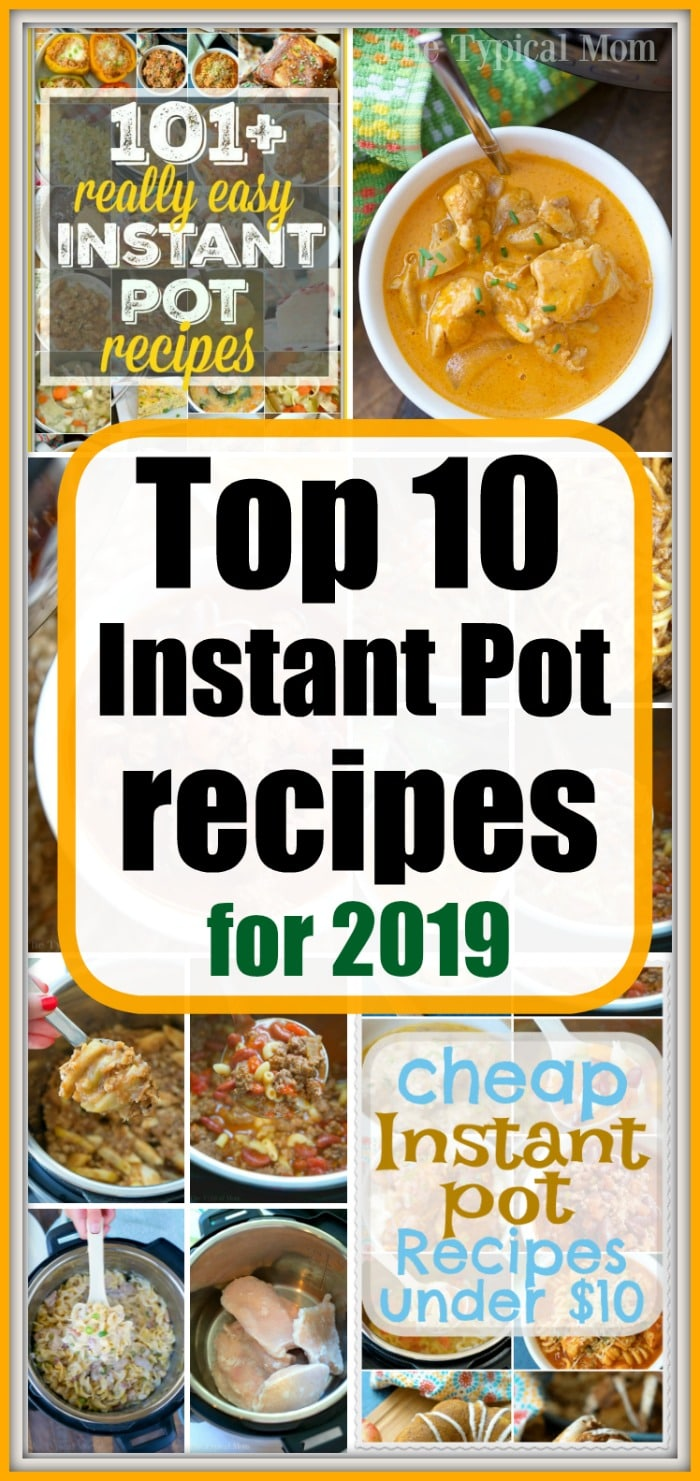 Most Popular Instant Pot Recipes