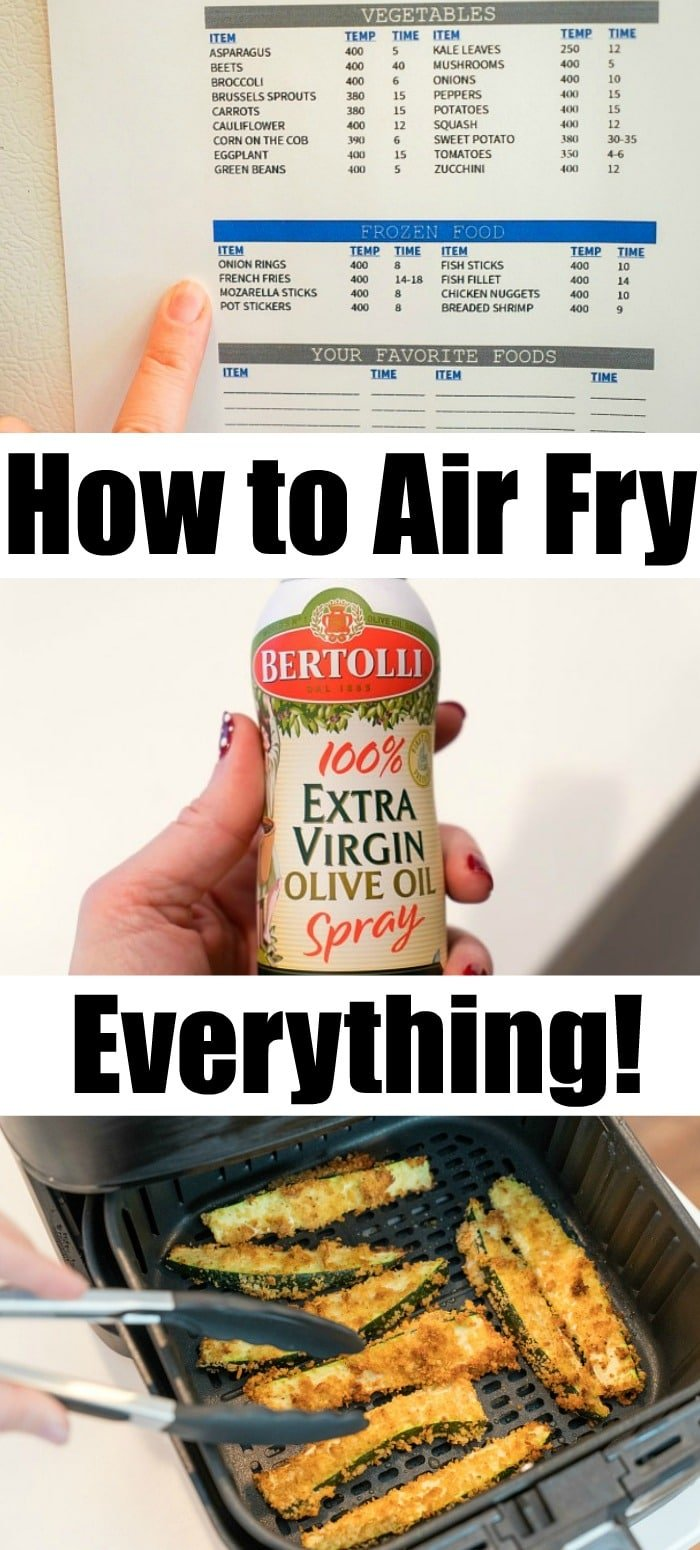 air fry everything