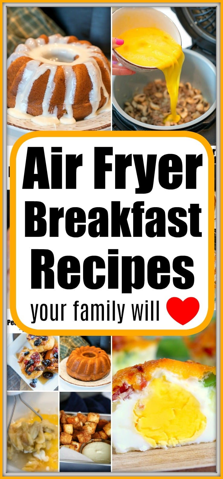 air fryer breakfast