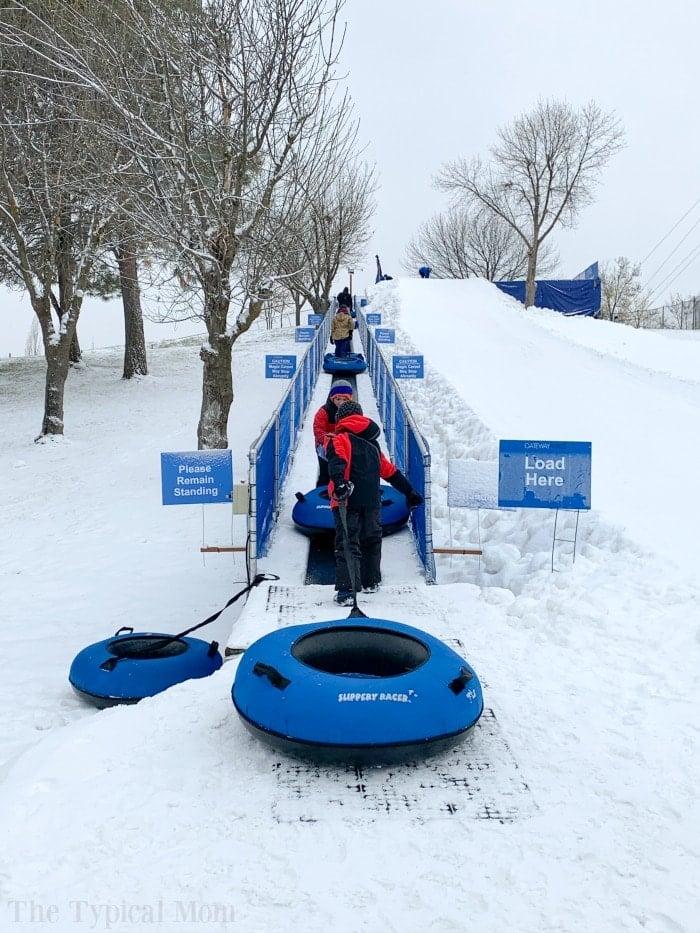 boise sledding