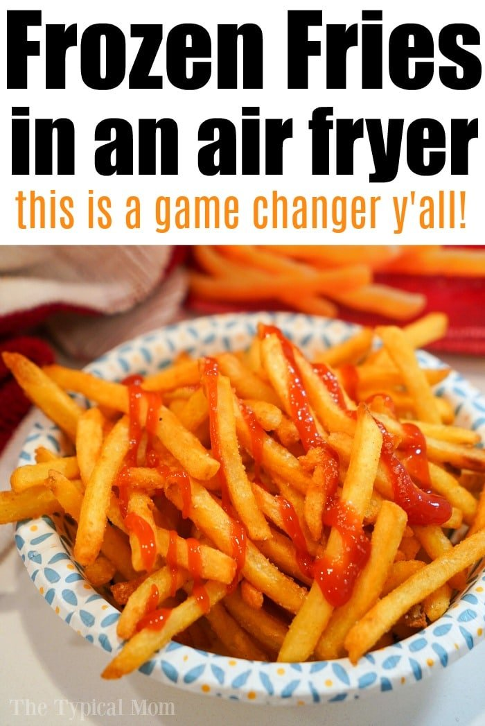 Frozen French Fries Air Fryer