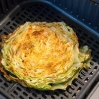 air fried cabbage