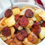 air fryer sausage and potatoes