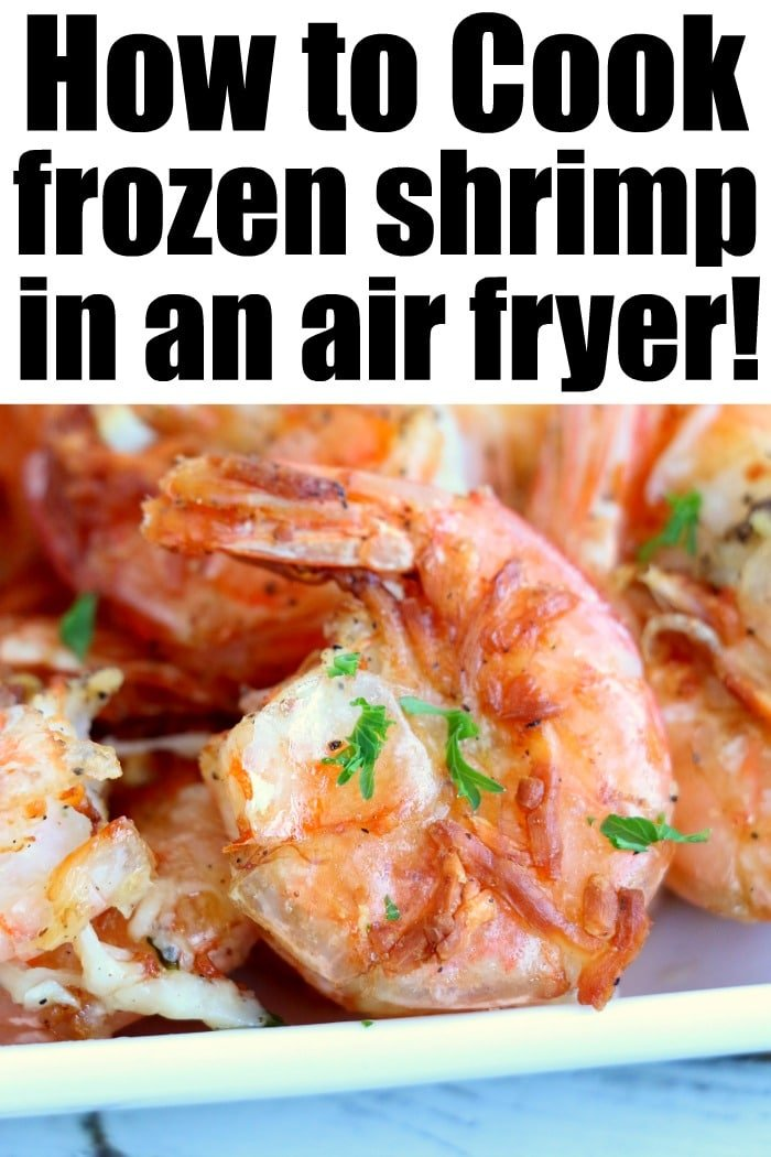 can you cook frozen shrimp in air fryer
