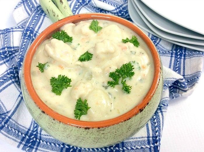 chicken gnocchi soup instant pot