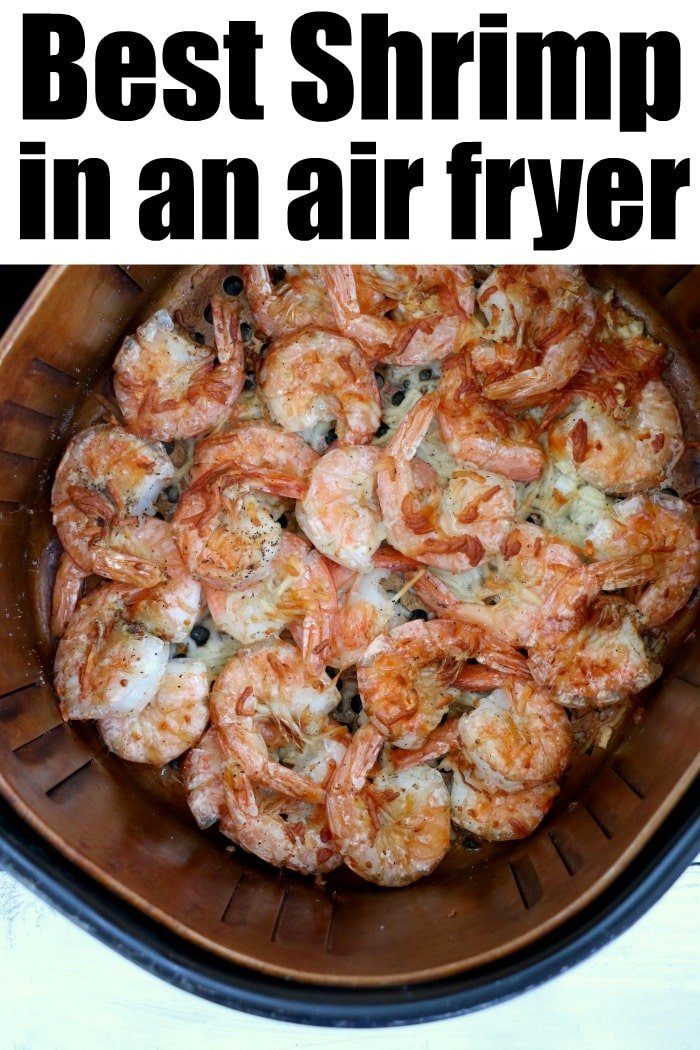 how long to cook frozen shrimp in air fryer