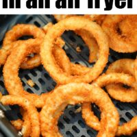 how to cook frozen onion rings