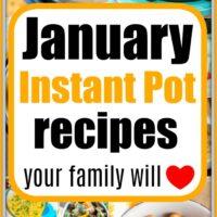 january instant pot recipes