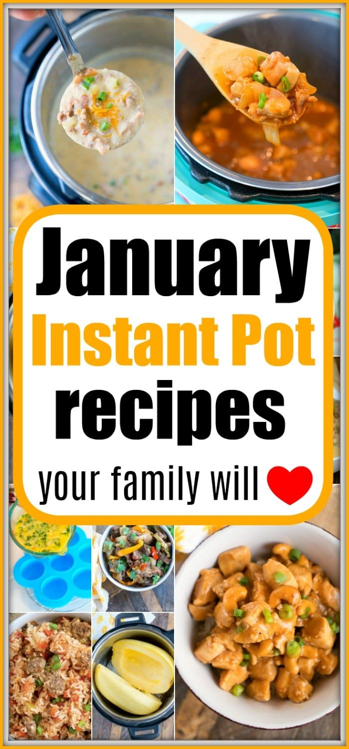 january instant pot recipes