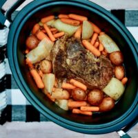 slow cooker roast