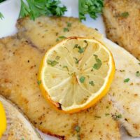 Frozen Fish in Air Fryer