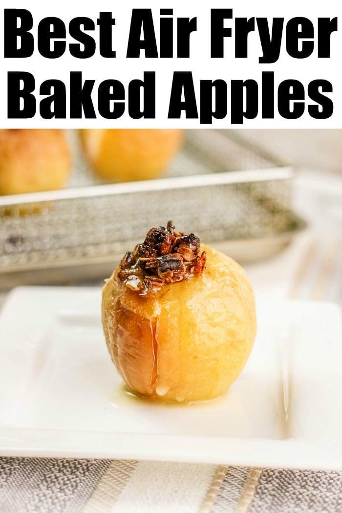 air fryer apples