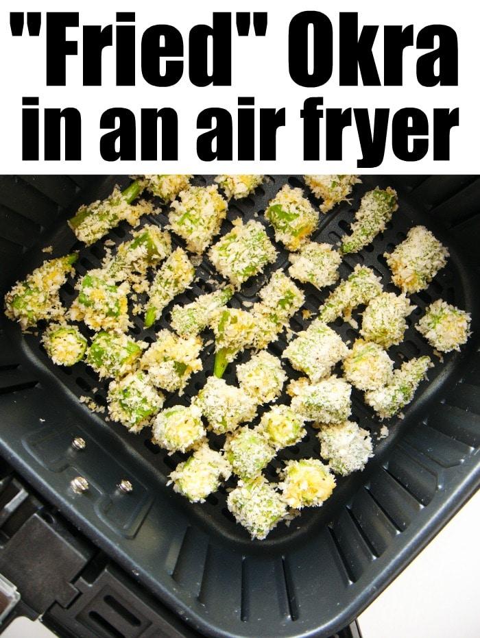air fryer frozen okra
