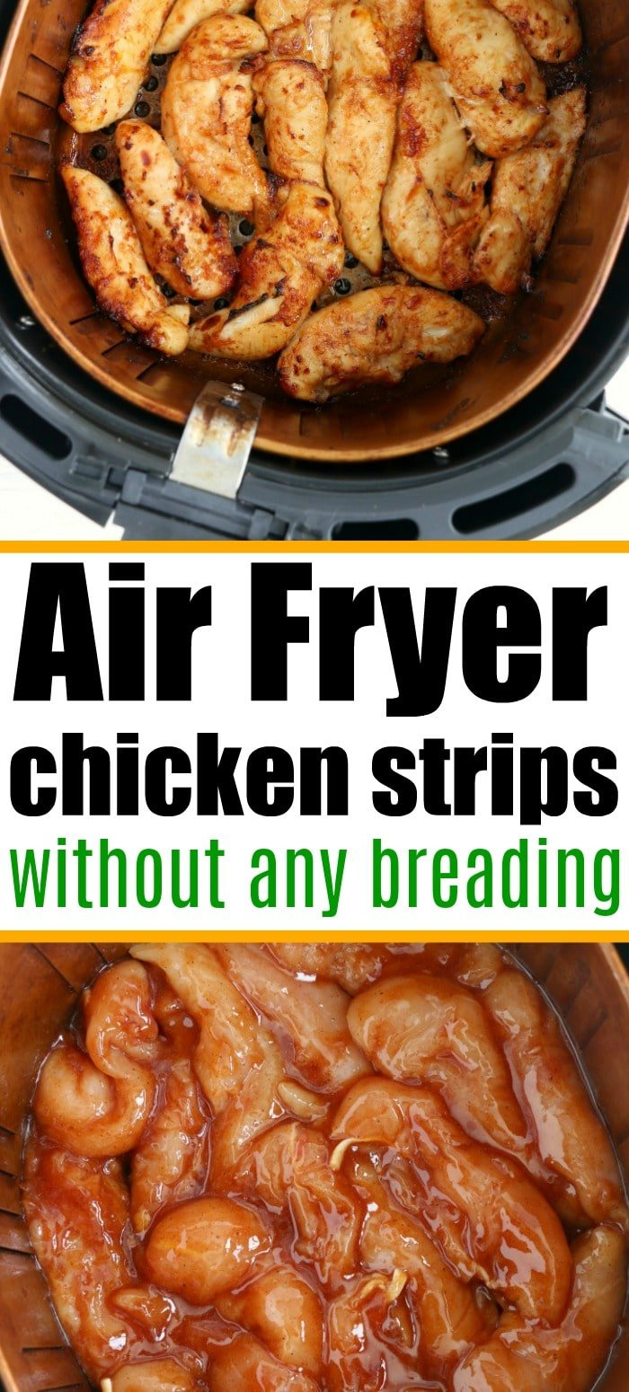 Air Fryer Chicken Tenders No Breading The Typical Mom
