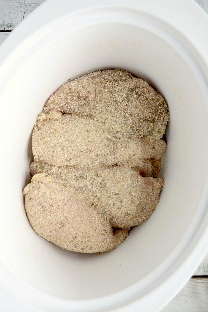 crockpot chicken parm