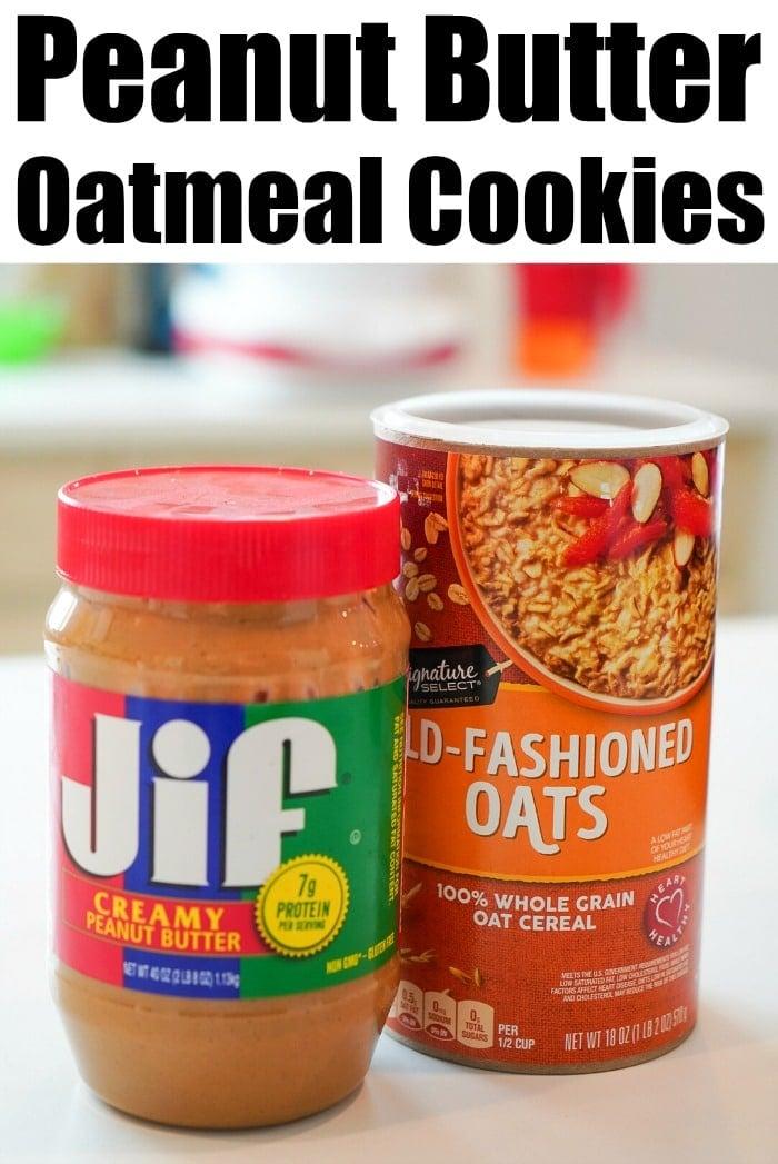 peanut butter oatmeal cookie recipe