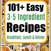 Few Ingredient Recipes