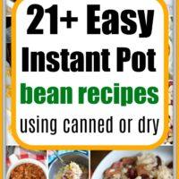Instant Pot Bean Recipes