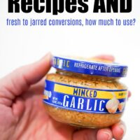 Minced Garlic Jar