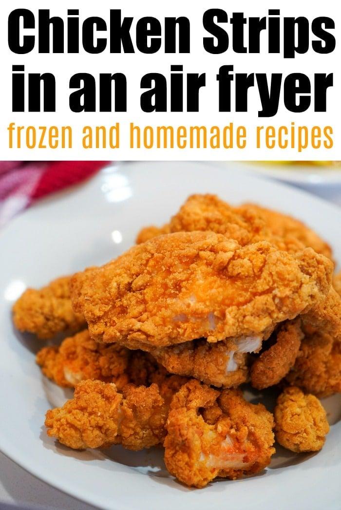 air fryer frozen chicken strips