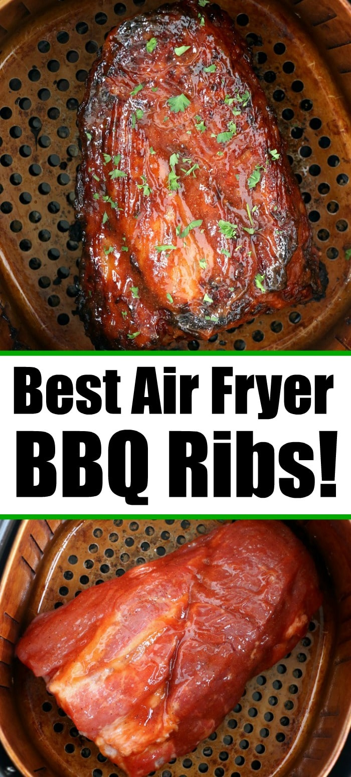 air fryer pork ribs