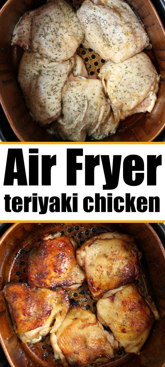 air fryer teriyaki chicken
