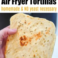 air fryer tortillas