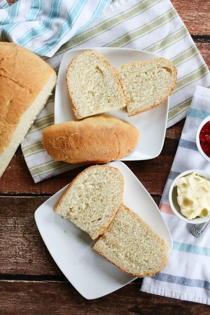 easy white bread recipe