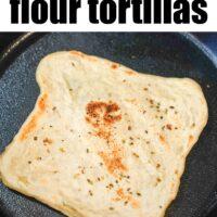 flour tortilla recipe