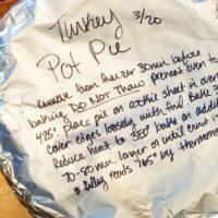 frozen turkey pot pie