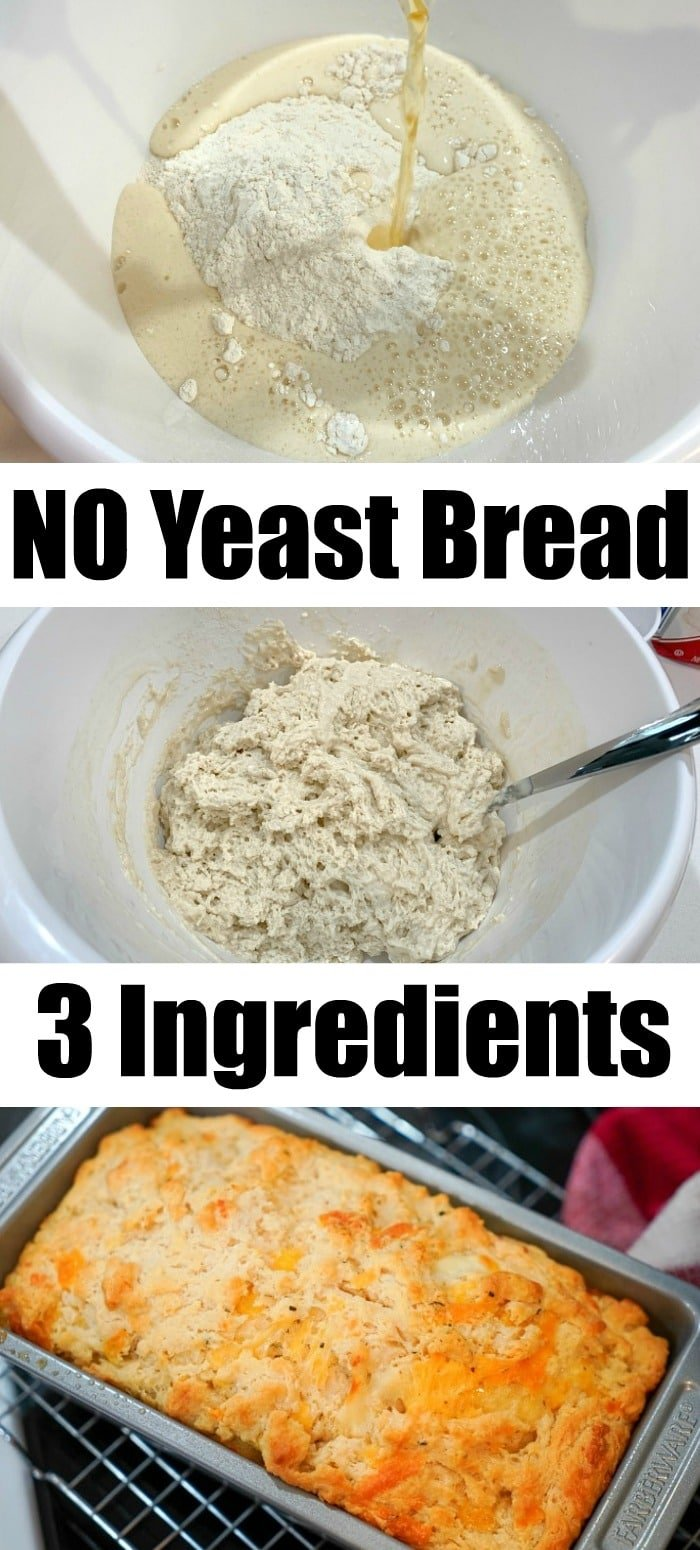no yeast bread