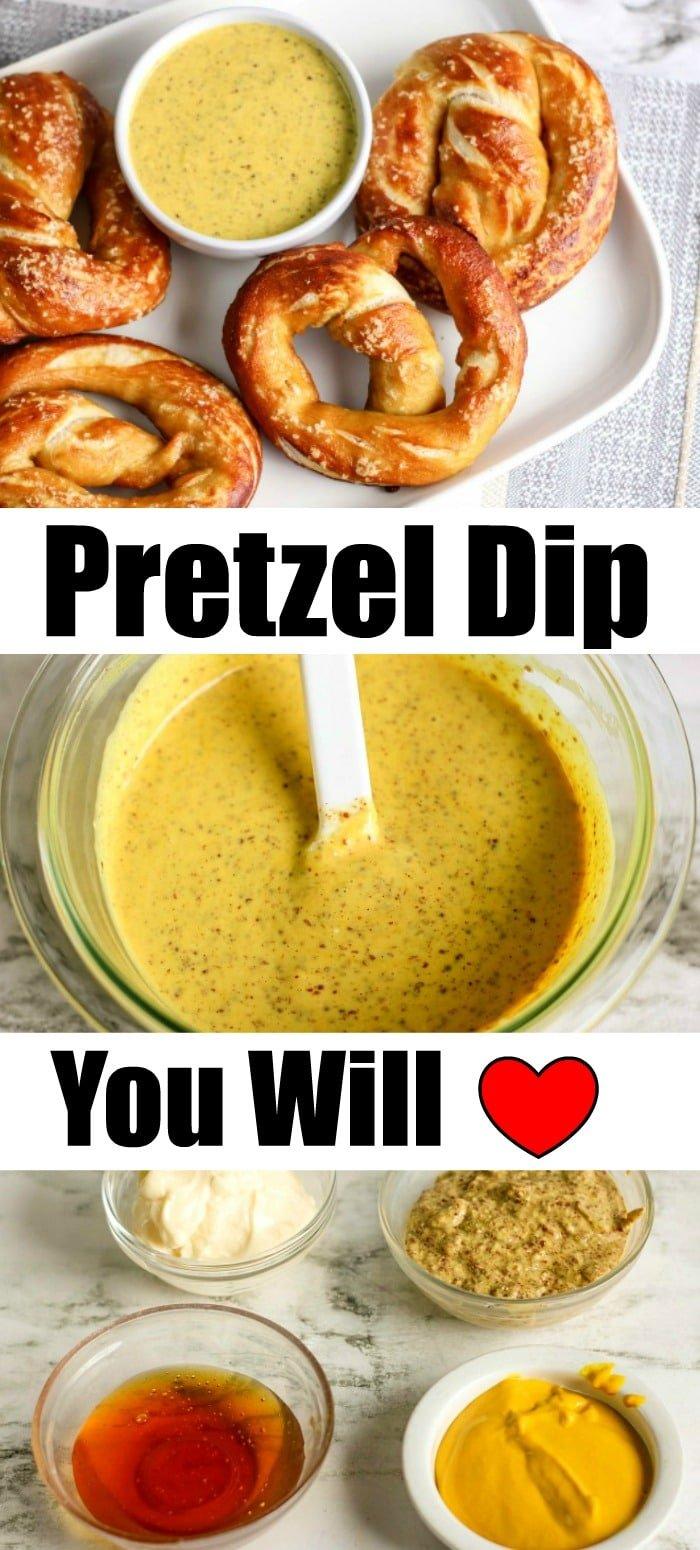pretzel dip